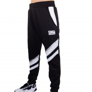 freshmaker jogginghosen survival mode wear pants jogger schwarz weiß hose