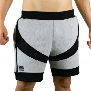 survival shorts pants kurze hose grau schwarz survival mode wear sport fitnesswear